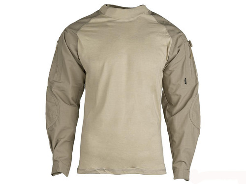 Tru-Spec Tactical Response Uniform Combat Shirt - Khaki (Size: Large)