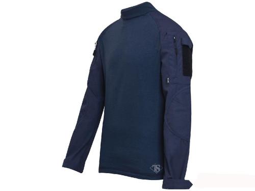 Tru-Spec Tactical Response Uniform Combat Shirt - Navy (Size: Small)