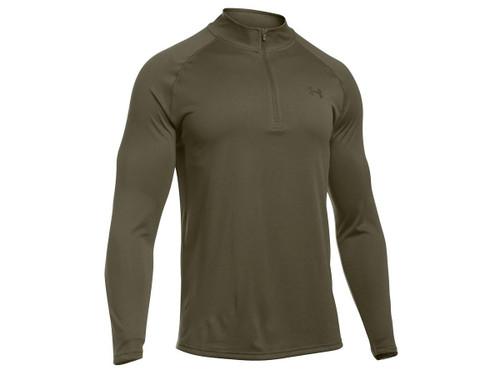 Under Armour UA Tactical Tech™ ¼ Zip Shirt - Marine OD Green (Color: Small)