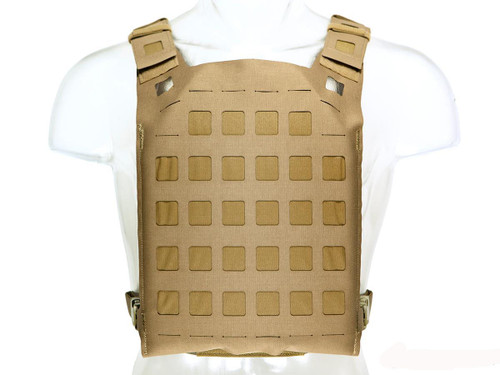 Blue Force Geat PLATEminus Plate Carrier (Color: Coyote Brown / Large)