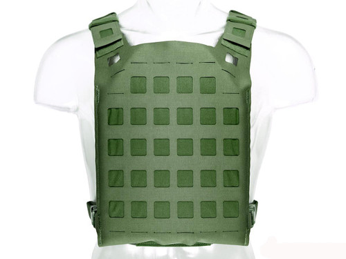 Blue Force Gear PLATEminus Plate Carrier (Color: OD Green / Large)