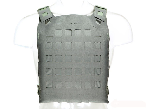 Blue Force Gear PLATEminus Plate Carrier (Color: Wolf Gray / Large)