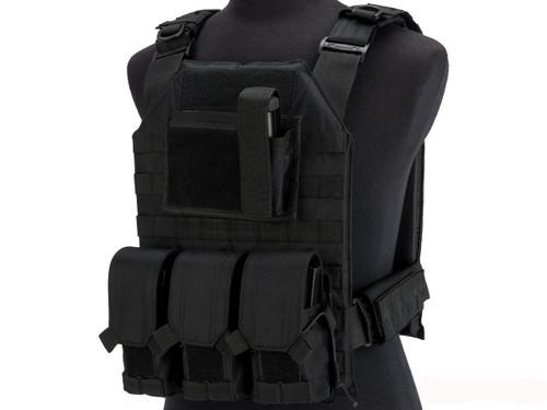 Matrix MTS Commando Elite Plate Carrier Vest (Color: Black)