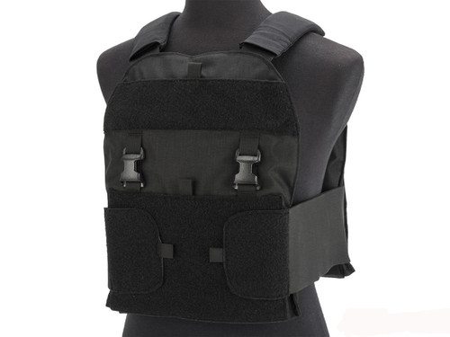 Mayflower Research and Development Law Enforcement Plate Carrier, (Color: Black / Small & Medium)