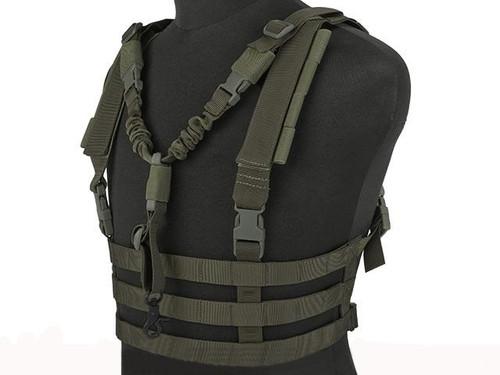 Emerson High Speed Vest w/ Zero Gravity QD Sling - Foliage Green