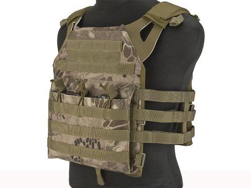 Matrix VT390 Low Profile Tactical Plate Carrier - Dark Arid Serpent
