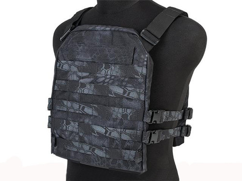 Mission Spec Essentials Only Carrier (EOC) Tactical High Speed Plate Carrier - Kryptek Typhon
