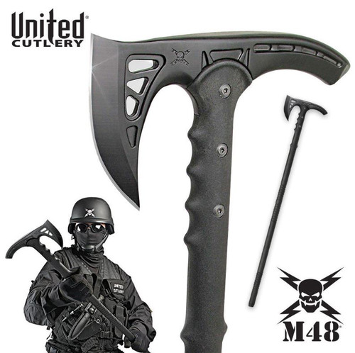 United M48 UC2905 Kommando Survival Axe - Black
