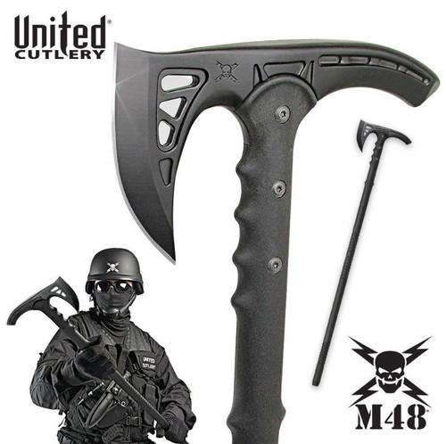 United M48 UC2905 Kommando Survival Axe - Black