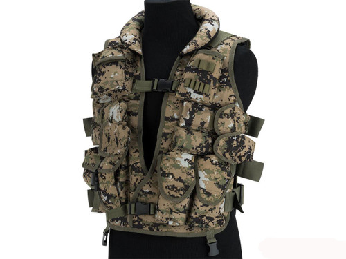 Fire Dragon SDU Level II Special Forces Vest (Color: Digital Woodland)