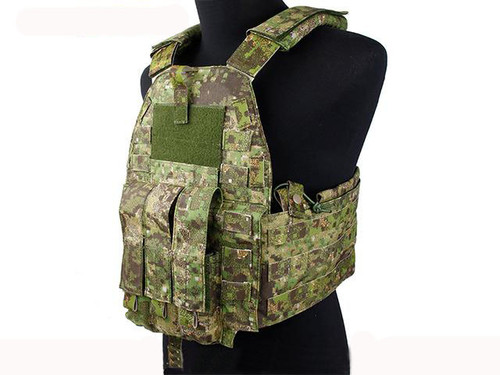 Rasputin 94K-MP7 Plate Carrier - PenCott Greenzone