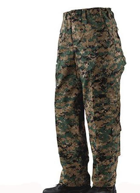 Tru-Spec Tactical Response Uniform Pants - Digital Woodland (Size: Small-Regular)