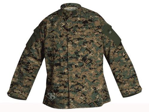 Tru-Spec Tactical Response Uniform Shirt - Digital Woodland (Size: Small-Regular)