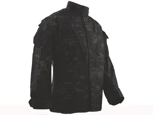 Tru-Spec Tactical Response Uniform Shirt - Multicam Black (Size: Small-Regular)