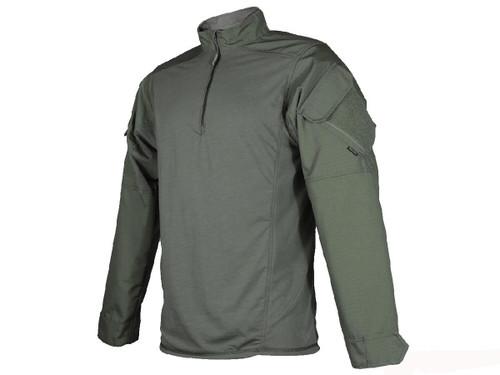 Tru-Spec Urban Force TRU 1/4 Zip Combat Shirt (Size: OD Green / Medium)