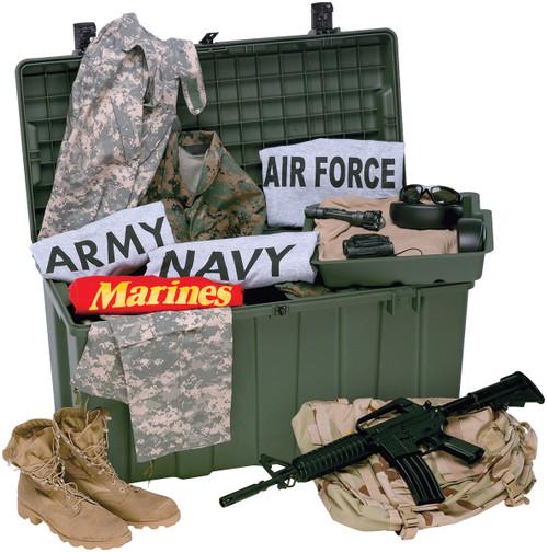 U.S. Armed Forces Pelican-Hardigg Trunk Locker TL500i - like New
