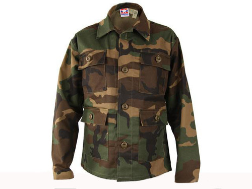 Propper Kid's BDU Coat - Woodland - Size 16
