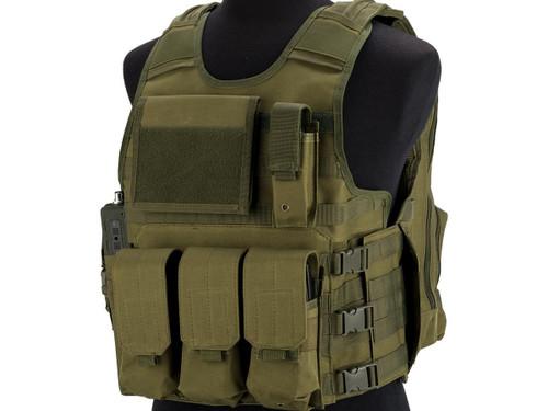 Matrix MEA ModII Tactical Vest (Color: OD Green)