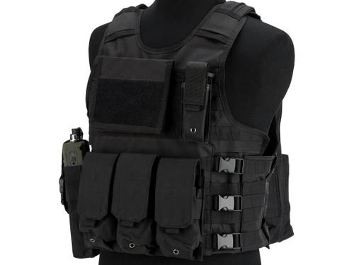 Matrix MEA ModII Tactical Vest (Color: Black)