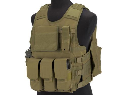 Matrix MEA ModII Tactical Vest (Color: Tan)