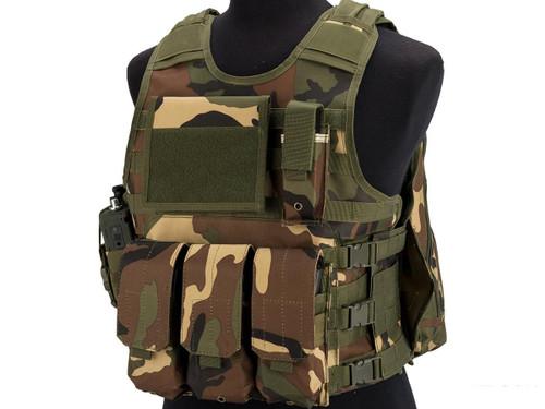 Matrix MEA ModII Tactical Vest (Color: Woodland)