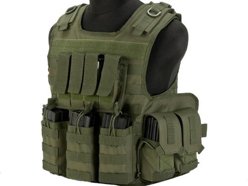 Matrix MTS Small Arms Light Assaulter Vest - OD Green