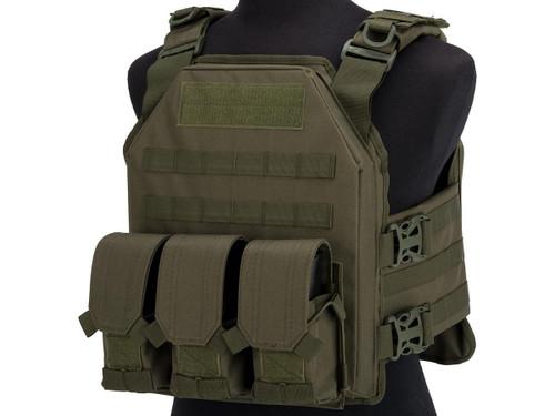 Matrix MTS SOE Light Plate Carrier Vest (Color: OD Green)