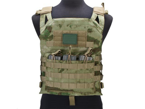 Avengers Compact Operator Airsoft High Speed JPC Plate Carrier (Color: Arid Foliage / X-Large)