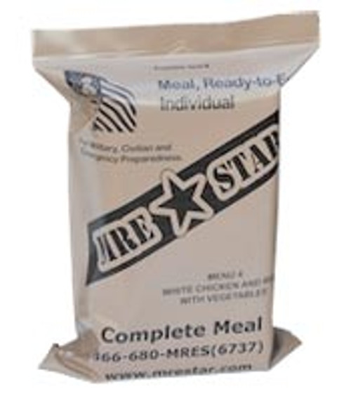 MRE Star Single Packet - Assorted Menu