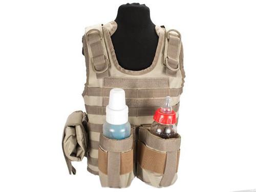 Matrix Tactical Systems Baby CIRAS Tactical Vest - Tan