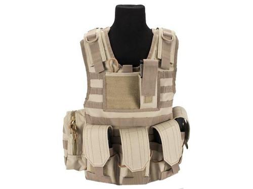 Matrix Tactical Systems Junior Size CIRAS Tactical Vest - Tan