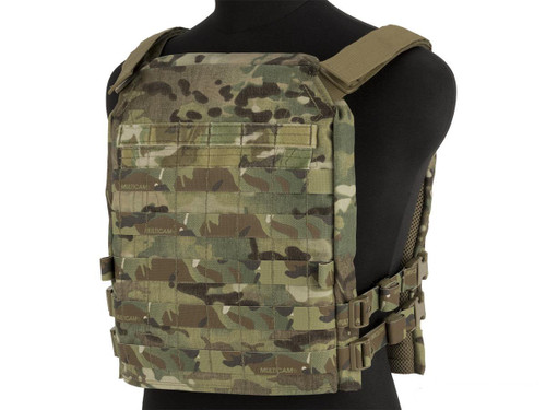 Mission Spec Essentials Only Carrier (EOC) XL Tactical High Speed Plate Carrier (Color: Multicam)