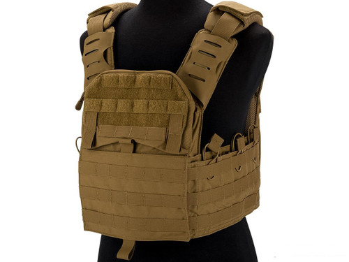 Shellback Tactical Banshee 2.0 Plate Carrier (Color: Coyote)