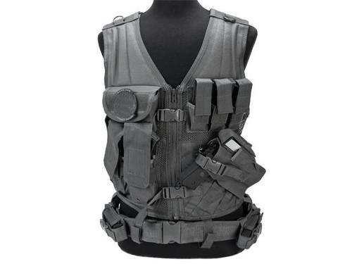NcStar VISM Tactical Vest - Urban Gray