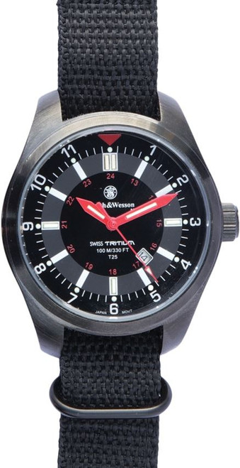 Smith & Wesson W1864T Military H3 Tritium Watch