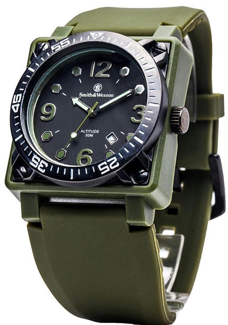 Smith & Wesson W5800OD Altitude Watch - OD Green