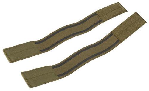 HSGI SGPB (Sure Grip Padded Belt) Plate Carrier Adapter (Pair) - Coyote Brown