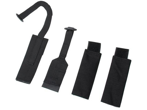 TMC Doff Webbing Kit for JPC Plate Carriers - Black