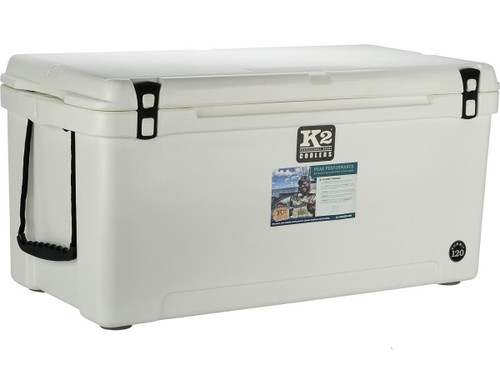 K2 Coolers Summit 120 Ice Chest (Color: Glacier White)