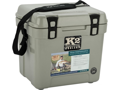 K2 Coolers Summit 20 Ice Chest (Color: Steel Grey)
