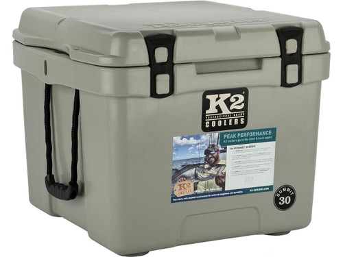 K2 Coolers Summit 30 Ice Chest (Color: Steel Grey)