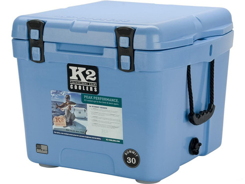 K2 Coolers Summit 30 Ice Chest (Color: Cool Blue)