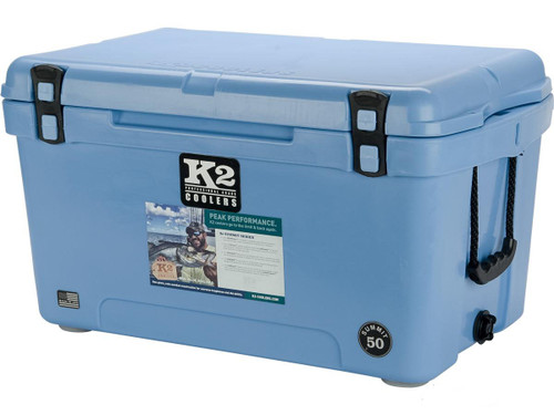 K2 Coolers Summit 50 Ice Chest (Color: Cool Blue)