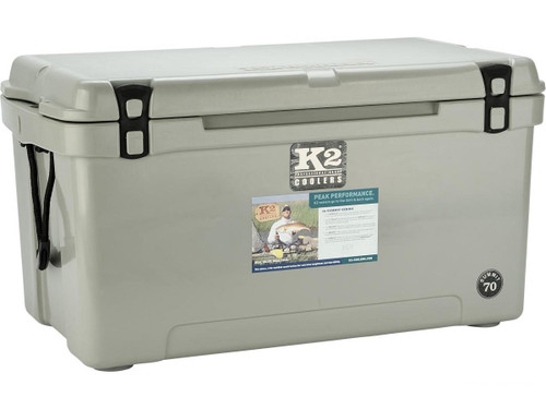 K2 Coolers Summit 70 Ice Chest (Color: Steel Grey)