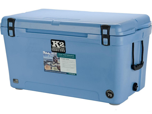 K2 Coolers Summit 70 Ice Chest (Color: Cool Blue)