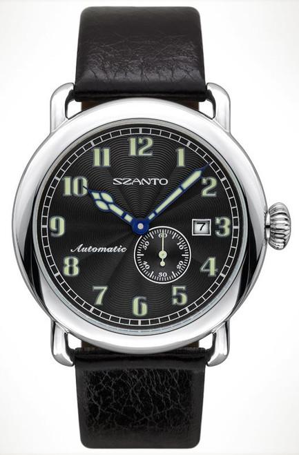 Szanto 6301 Officer's Round Automatic - Black