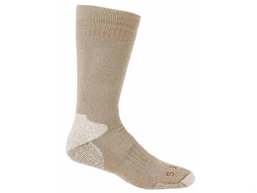 5.11 Tactical Cold Weather OTC Sock - Coyote (Size: Small / Medium)