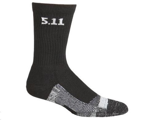 """5.11 Tactical Level I 6"""" Socks - (Black)"""
