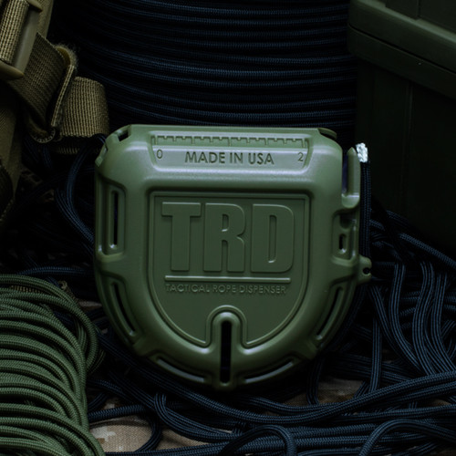 Atwood Rope TRD Tactical Rope Dispenser - OD Green