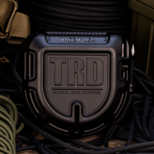 Atwood Rope TRD Tactical Rope Dispenser - Black
